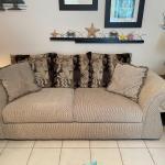 Full Size Sofa & Pillows