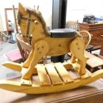 Nice Solid Wood Hand Crafted Rocking Horse
