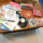 Collection of Kid's Storytime Listen and Read Along Books and Records/Tapes Vari