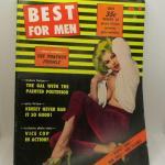 Lot 49 - June 1962 Best for Men Gentlemen's Magazine