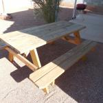 Wooden Picnic Table for Sale!