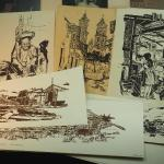 Lot 70, Prints and drawings by Local Los Gatos Artist Bob Newick Unframed on art
