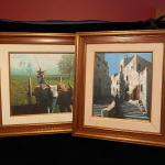 Lot 248 - Two Alfonso Mendes Signed Paintings