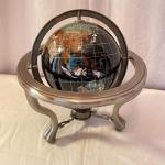 Lot 249 - Gorgeous Gemstone Globe