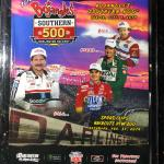 NEW! NASCAR Darlington 2019 Southern 500 program