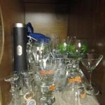 Collection of Barware (Long Stem, Corkscrew, Bottle Opener, etc.)