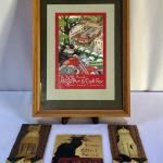 Lot 194 - Framed Arts & Crafts Poster & More