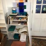 Lot 275 - Craft Supplies & Shelves