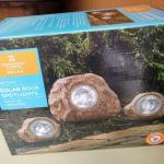NEW Solar Rock Spotlights