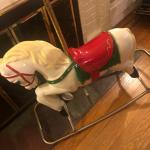 JR CAROUSEL ROCKING HORSE