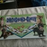 New  dachshund -opoly game