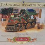 GRANDEUR NOEL 2002 Tin Christmas Locomotive Engine / Collector's Edition