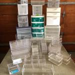 Lot 288 - Storage w Brochure Racks & more