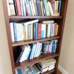 Collection One:  Fiction-Nonfiction-Biography Books (See all Pics--Wood Shelf no