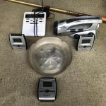 Lot 304 - Weather Tracking, Walking Stick and More