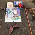 Lot 301 - Yard Art & Decorations