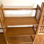 FOLDING CRAFTSMAN BOOK CASE
