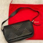 Luxurious Bally Black Leather Purse