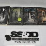 4 Paperback Fiction Books: Slender Man -to- Catacomb