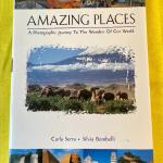 LOT 183  BOOK AMAZING PLACES A PHOTOGRAPHIC JOURNEY TO THE WONDERS OF THE WORLD