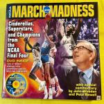 LOT 184  BOOK MARCH MADNESS W/DVD HIGHLIGHTS
