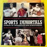 LOT 179 BOOK SPORTS IMMORTALS STORIES OF INSPIRATION AND ACHIEVEMENT