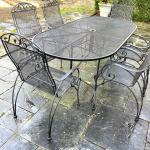 FEENEY'S metal patio set