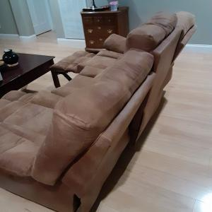 Photo of Double Reclining Couch