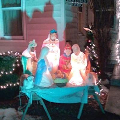Photo of Outdoor Nativity Scene