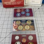 Lot #32 2010 U.S. Mint Silver Proof Set
