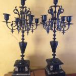 Pair of Vintage Candle holders