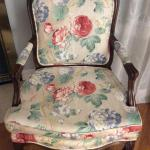 Upholstered Accent Arm Chair