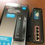 MOTOROLA WIRELESS MODEM AND GIGABIT ROUTER