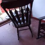 2 heavy heavy Rocking chairs  all WOOD