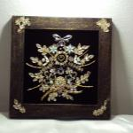 Assemblage/ Altered Art Jewelry Arrangement Handmade #484