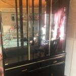 Broyhill Black China Hutch