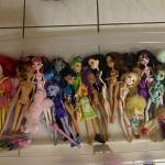 Monster High Dolls, Dolls, My little ponies, Wagon, Baby Float