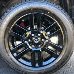(4) New Rims & Tires - 2021 Toyota 4Runner Nightshade Edition