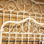 Beautiful Queen Genuine Brass Bed Freshly Painted