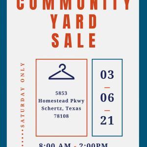 Photo of Community Yard Sale