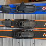 Set of Water Ski's & Slalom Ski