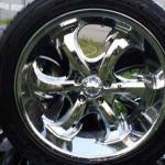 "Chrome 20"" Rims"