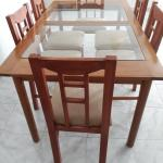Dining Table + 06 seats
