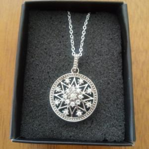 Photo of CZ Starburst Necklace