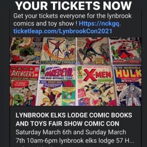 Photo of LYNBROOK COMIC BOOKS AND TOYS FAIR SHOW COMIC CON MARKET