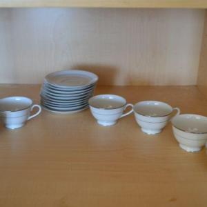 Photo of LOT 367  VINTAGE SANGO TEA CUPS AND SAUCERS