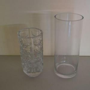Photo of LOT 359  GLASS VASES