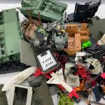 -280- GI Joe | LARGE Box Lot of Miscellaneous Accessories | Vehicles | Missiles