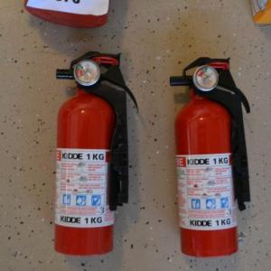 Photo of LOT 376   THREE FIRE EXTINGUISHERS