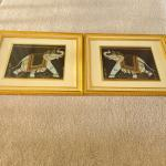 Elephants painting frames